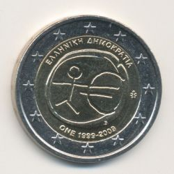 2€ Grece - 2009 - UEM