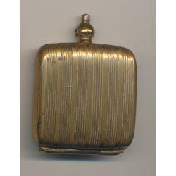 Porte Louis - 20 Francs Or - métal doré - Ref1