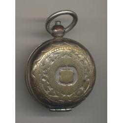 Porte Louis - 20 Francs Or - motif - métal doré - Ref6