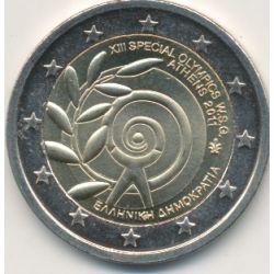 2€ Grece - 2011 - 13e JO spéciaux Athènes