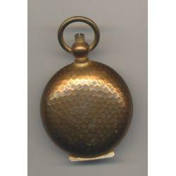 Porte Louis - 20 Francs Or - motif nid d'abeille - métal doré - Ref9