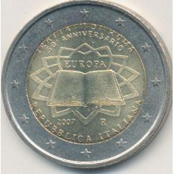 2€ Italie - 2007 - Traité de Rome