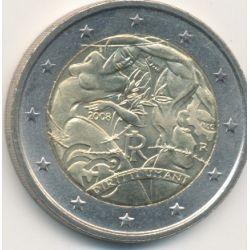 2€ Italie - 2008 - 60e anniv. déclaration universelle droits de l'homme