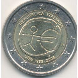 2€ Italie - 2009 - UEM