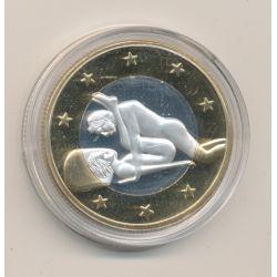 Médaille - Sex Euro N°1 - Kamasutra - 18+ adultes