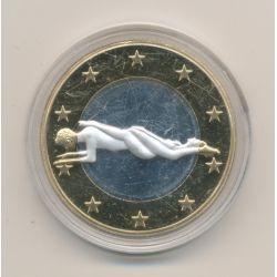 Médaille - Sex Euro N°2 - Kamasutra - 18+ adultes