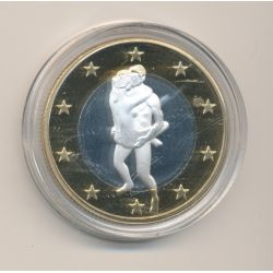 Médaille - Sex Euro N°4 - Kamasutra - 18+ adultes