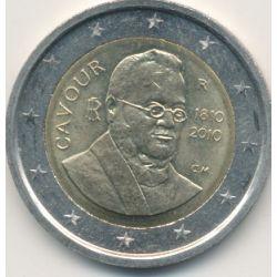 2€ Italie - 2010 - Cavour