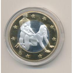 Médaille - Sex Euro N°5 - Kamasutra - 18+ adultes