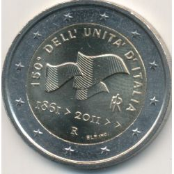 2€ Italie - 2011 - 150e anniversaire unification