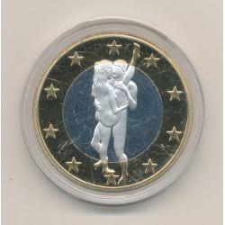 Médaille - Sex Euro N°8 - Kamasutra - 18+ adultes