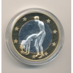 Médaille - Sex Euro N°11 - Kamasutra - 18+ adultes