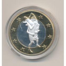 Médaille - Sex Euro N°12 - Kamasutra - 18+ adultes