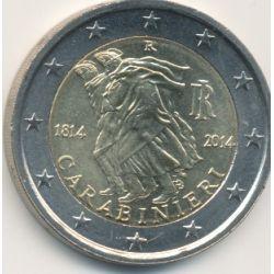 2€ Italie - 2014 - Carabinieri