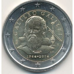 2€ Italie - 2014 - Galilée