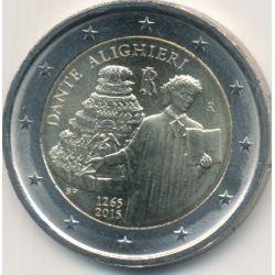 2€ Italie - 2015 - Dante alighieri
