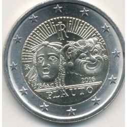 2€ Italie - 2016 - Plauto