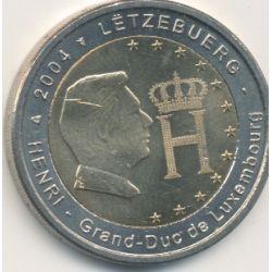 2€ Luxembourg 2004 - Henri grand duc du luxembourg