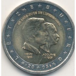 2€ Luxembourg 2005