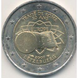 2€ Luxembourg 2007 - Traité de Rome