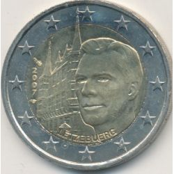 2€ Luxembourg 2007 - Grand duc Henri et Palais grand ducal
