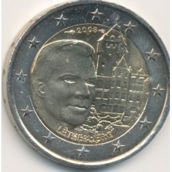 2€ Luxembourg 2008 - château de Berg