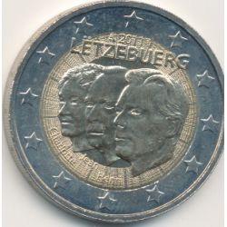 2€ Luxembourg 2011 - Grande duchesse Charlotte et son fils