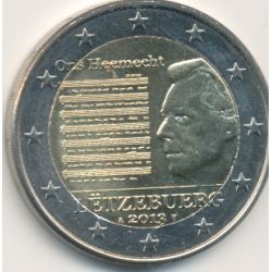 2€ Luxembourg 2013 - Hymne national Luxembourgeois