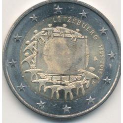 2€ Luxembourg 2015 - 30 ans drapeau européen