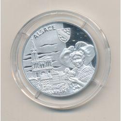 Médaille - Alsace - argent 20g - Trésors de nos régions - 7.500 ex - 34mm - FDC