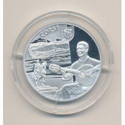 Médaille - Corse - argent 20g - Trésors de nos régions - 7.500 ex - 34mm - FDC