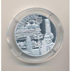 Médaille - Bretagne - argent 20g - Trésors de nos régions - 7.500 ex - 34mm - FDC