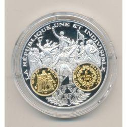 Médaille  - 5 Francs Hercule - 2000 ans d'histoire monétaire Français