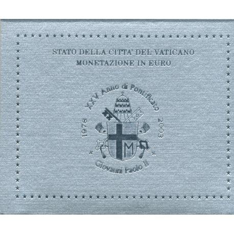 BU Vatican 2003 - Jean Paul II