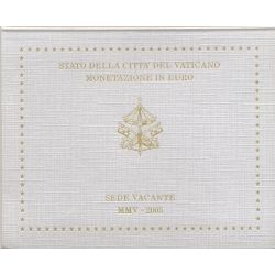 BU Vatican 2005 - Siège vacant