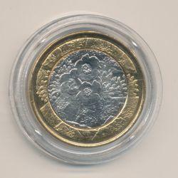 5€ Finlande 2012 - Flore