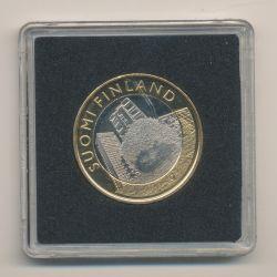 5€ Finlande 2015 - le hérisson