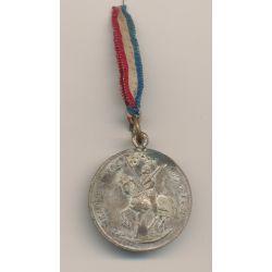 Médaille - Jeanne d'arc - Souvenir de la cavalcade - Ville de Billom - 1892 - 32mm
