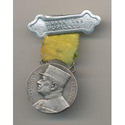 Médaille - Oeuvre pupilles des sapeurs pompiers - Commandant Guesnet 1936