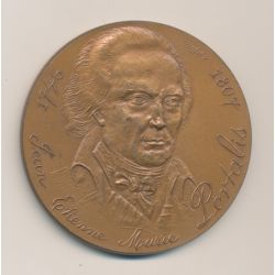 Médaille - Notariat Français - Caisse des dépôts - J.E.M Portalis - 1746/1807 - bronze - 59mm - TTB+