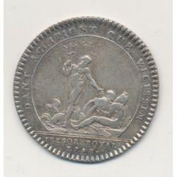 Jeton - Louis XV - Trésor royal - 1758