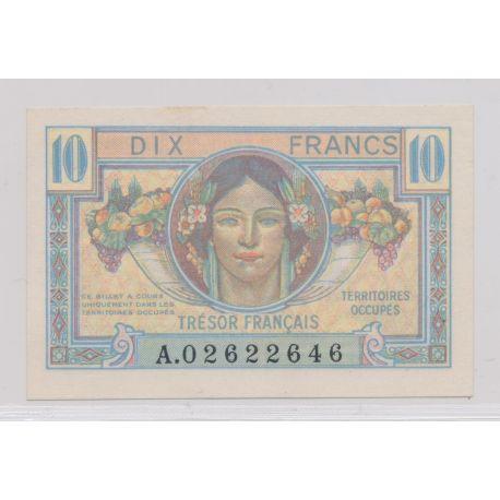 10 Francs Trésor Français - 1947 - SUP