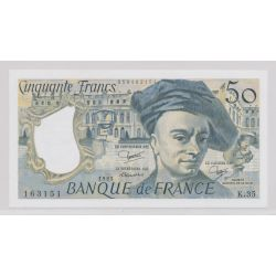 50 Francs Quentin de la tour - 1983 - K.35 - Neuf