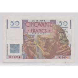 50 Francs Le verrier - 3.11.1949 - M.140 - TTB+