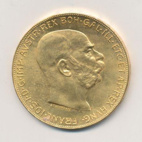Autriche - 100 Corona 1915 - François I - Or 33,87g 0,900 - SUP