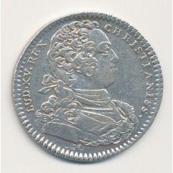 Jeton - Louis XV - Parties casuelles - 1733
