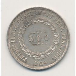 Brésil - 500 Reis - 1858