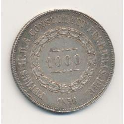Brésil - 1000 Reis - 1856