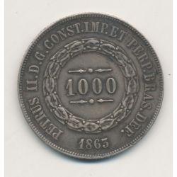 Brésil - 1000 Reis - 1863