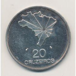 Brésil - 20 Cruzeiros - 1972